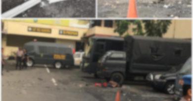 Medanoke.com-potongan tubuh pelaku bom bunuh diri