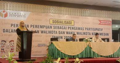 Medanoke.com - Anggota Bawaslu RI, Ratna Dewi Pettalolo saat memberikan sosialisasi