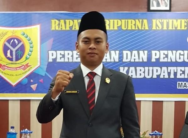 Kader Muda Partai Perindo di Labusel, Ginanda siregar Resmi di Lantik Anggota DPRD