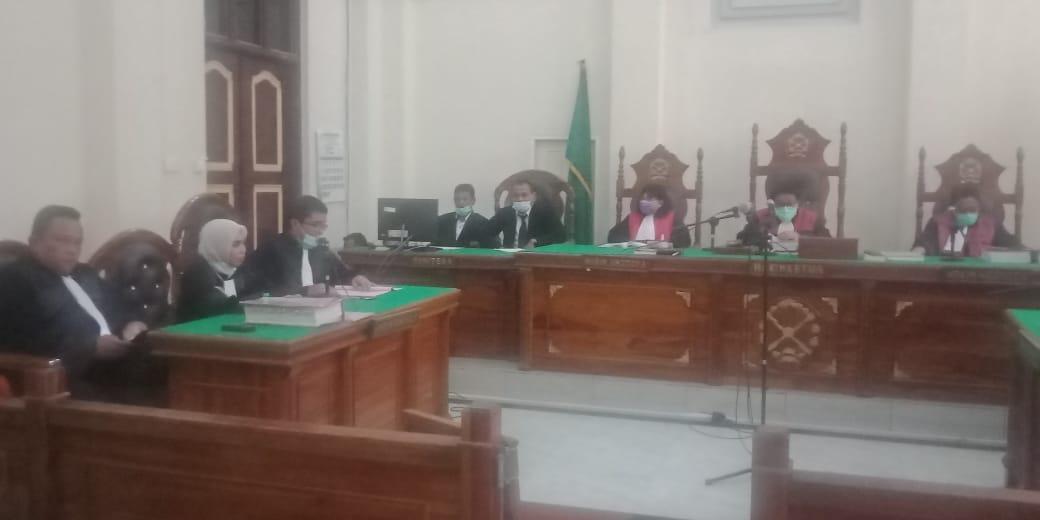 Jaksa Sidangkan Pembunuh Hakim PN Medan Secara Online