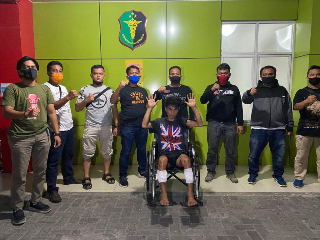 Medanoke.com - Polsek Medan Kota Mengamankan Pelaku Begal