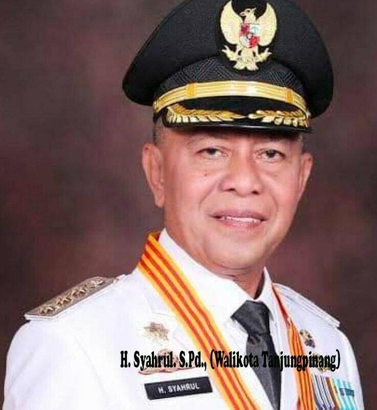 Walikota Tanjung Pinang Wafat Terpapar Covid 19