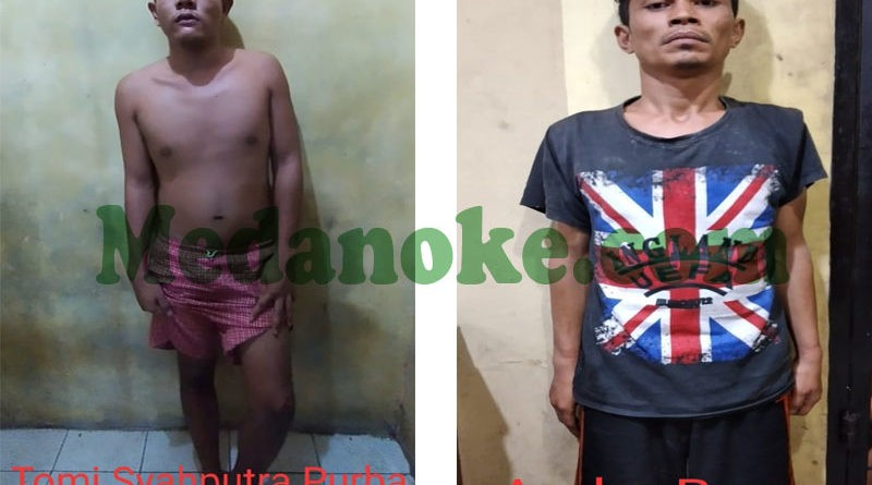 medanoke.com - Pelaku Begal Diamankan Polsek Medan Kota