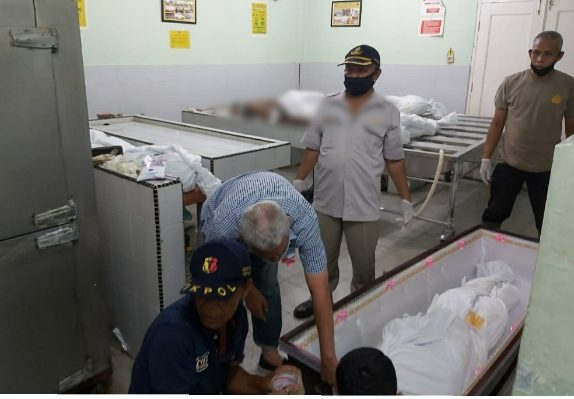 Medanoke.com - korban tewas kapal terbakar