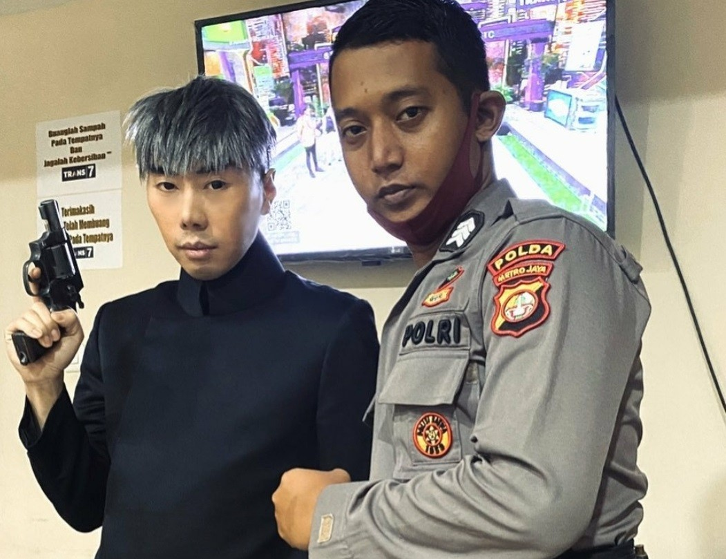 Roy Kiyoshi Diamankan Polisi Terkait Narkoba