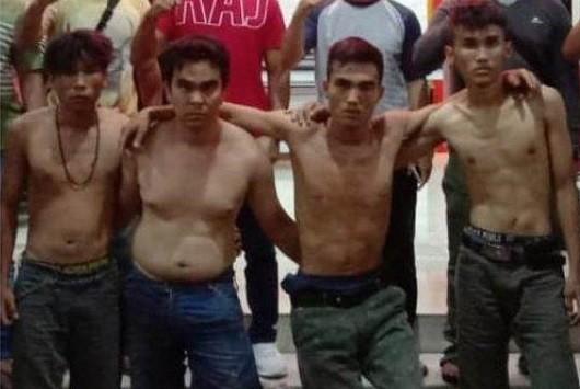 Door ! Polda Sumut Tembak Begal Sadis di Medan