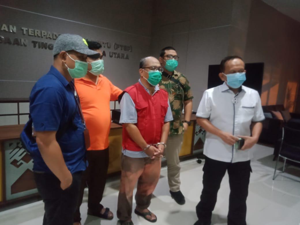 Tim Tabur Intel Kejati Sumut Tangkap Zainal DPO Korupsi PDAM Deli Serdang