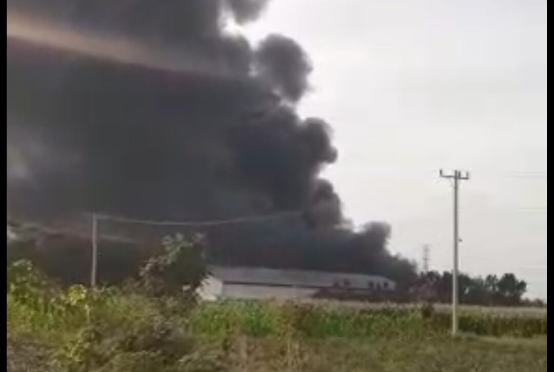 Pabrik Springbad Caisar Terbakar