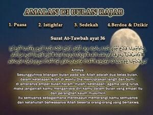 medanoke.com- puasa di bulan Rajab 1442 Hijriah