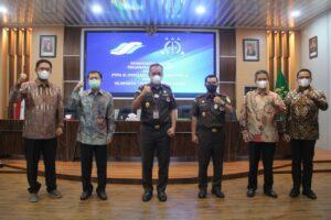 Medanoke.com - Kejati Sumut Jalin Kerjasama Bidang Datun Dengan PTPN II, III dan IV