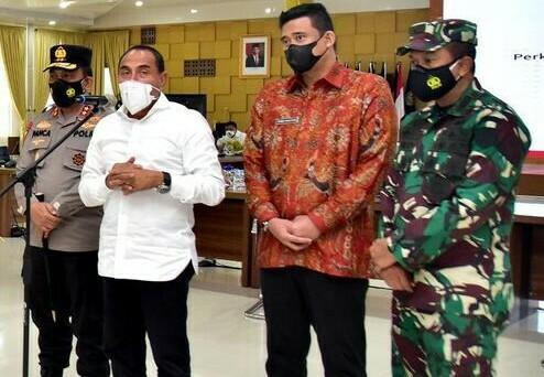Medanoke.com - Medan, Kota Medan Terapkan PPKM 12 Juli. (Ist)
